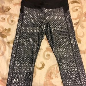 Under Armour black and grey leggings